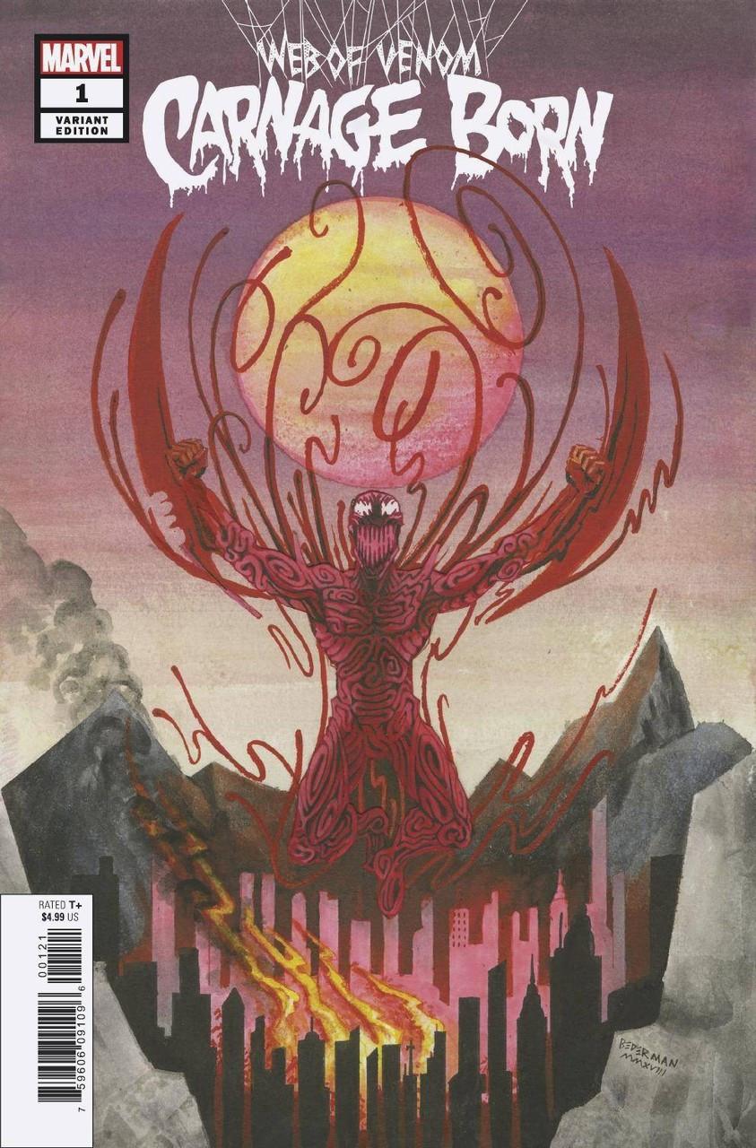 Marvel Web of Venom Carnage Born #1 Comic Book [Ian Bederman Variant Cover]
