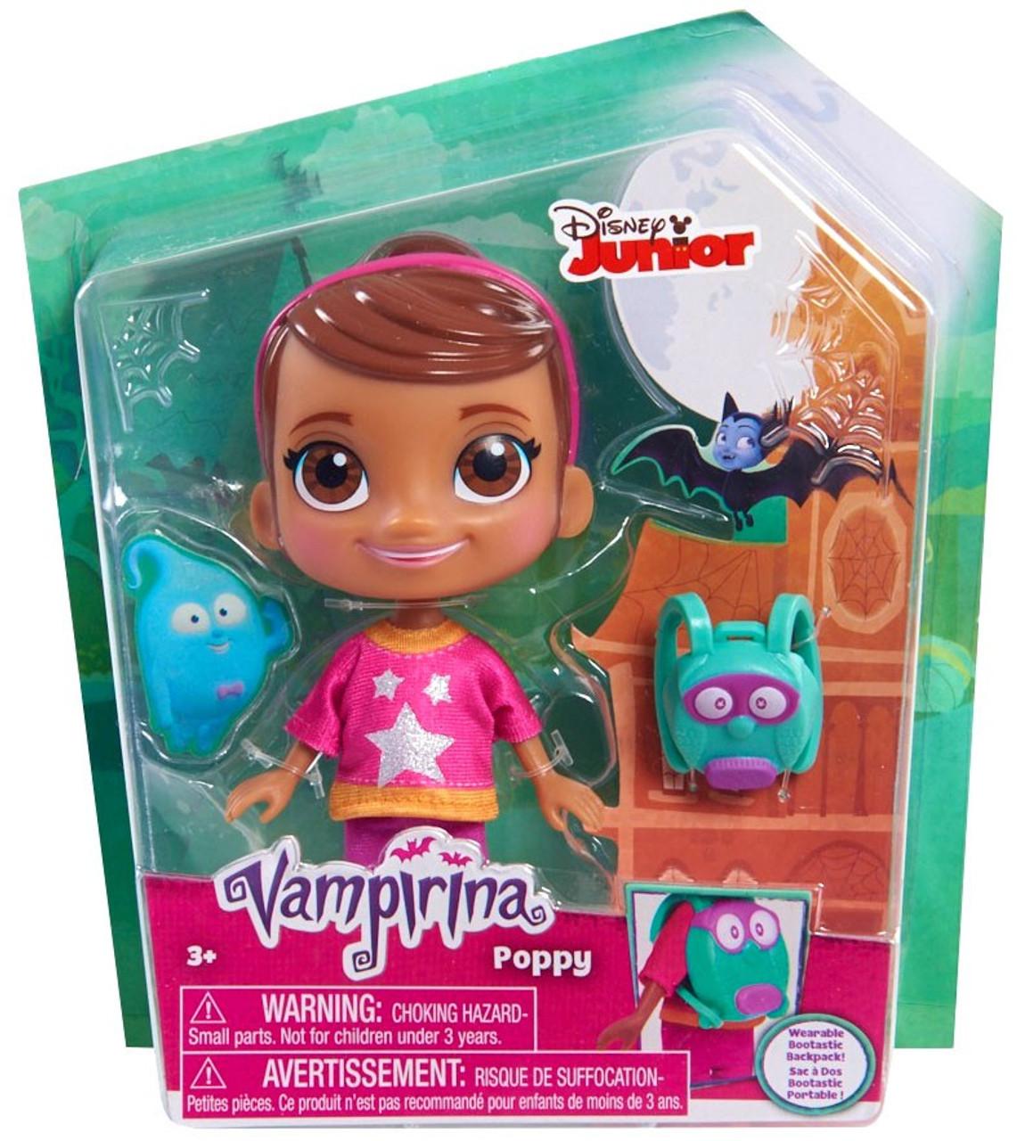 94a95870987 Disney Junior Vampirina Poppy Figure Damaged Package Just Play - ToyWiz