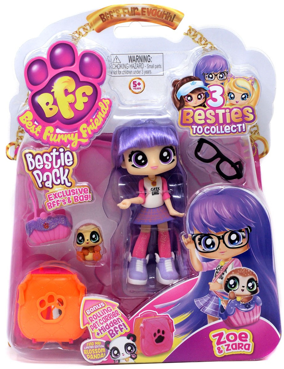 6 BFFs BFF Deluxe Pack 1 of them is a mystery BFF Best Furry Friends
