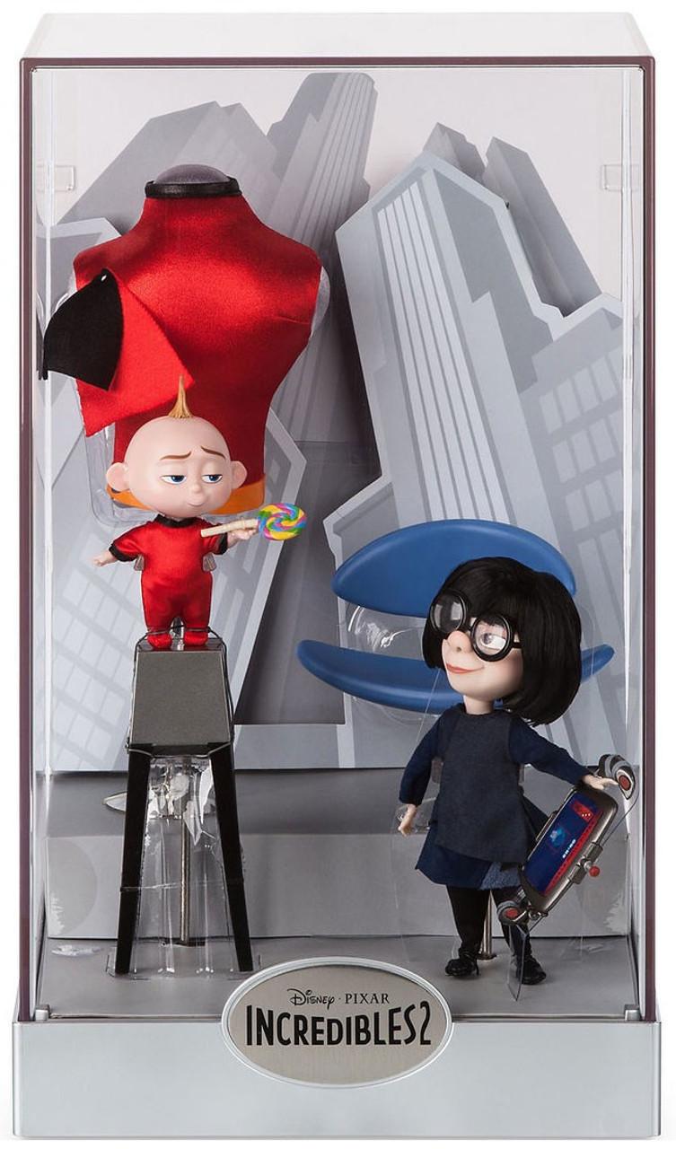 Disney Pixar Incredibles 2 Deluxe Figurine Set   10 Pc Action Figures  NEW