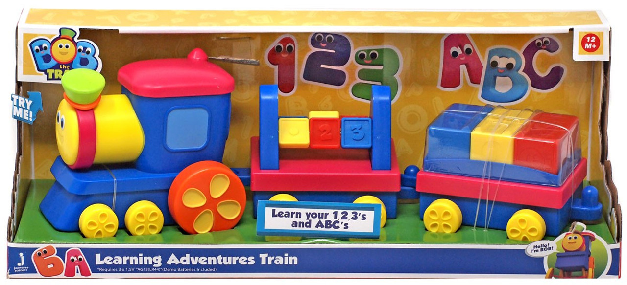 Bob the Train Learning Adventure Train Playset