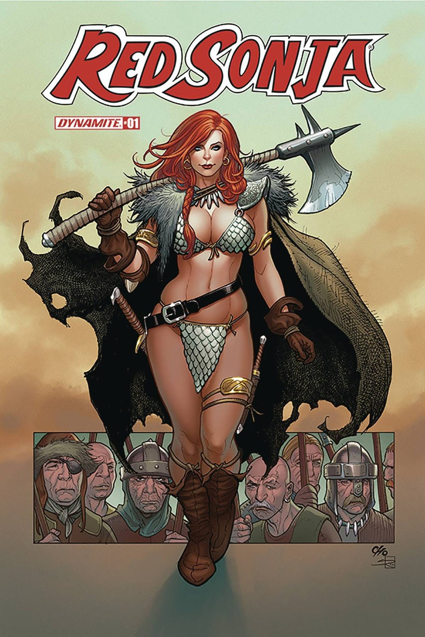 Red Sonja Sonja Goes East #1 Cover B Dynamite Collectibles