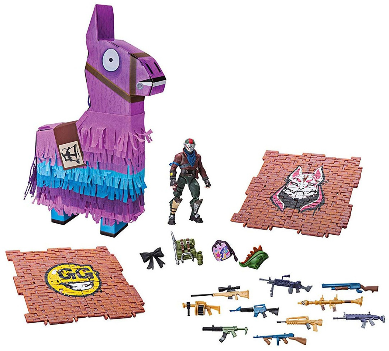 5ff09812fce Fortnite Llama Drama Loot Pinata Party Toy Rust Lord 4 Action Figure  Accessories Jazwares - ToyWiz