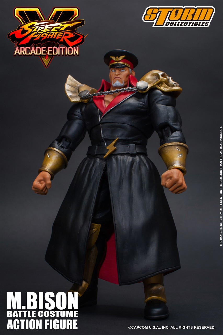 Street Fighter V M Bison 112 Action Figure Battle Costume Storm