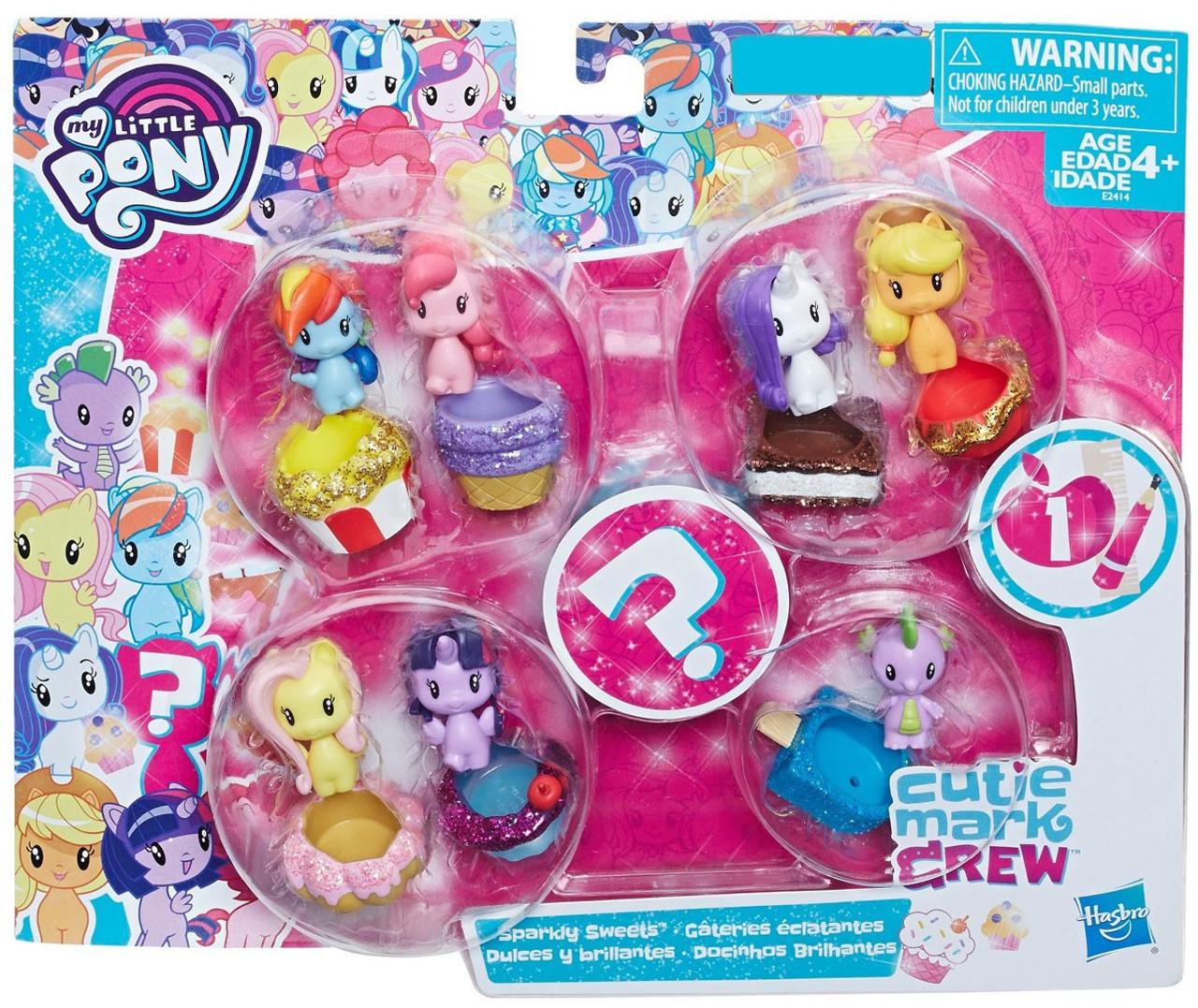 My Little Pony Cutie Mark Crew Series 2 Figure Applejack