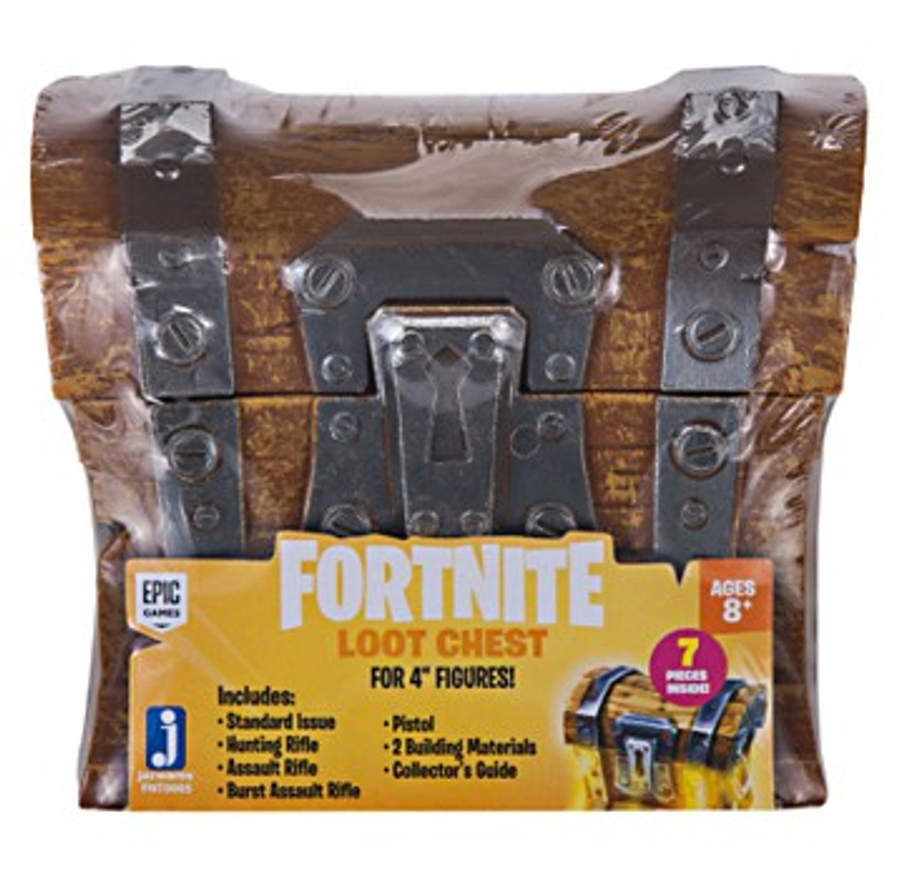 FORTNITE LOOT CHEST 7 Pieces for Jazwares 4 Fortnite Figures Epic Games Zabawki