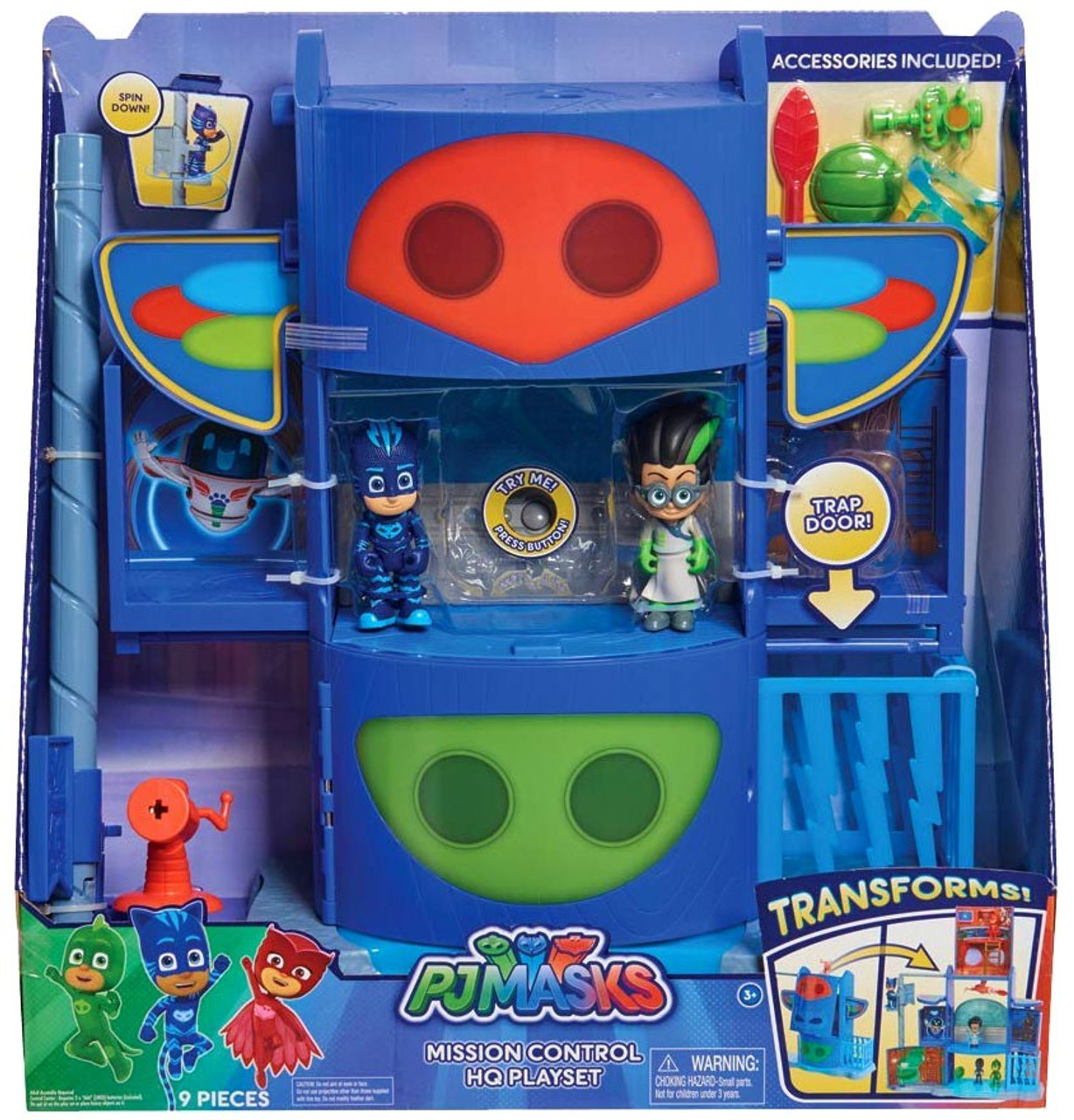 Disney Junior PJ Masks Headquarters Playset by Just Play