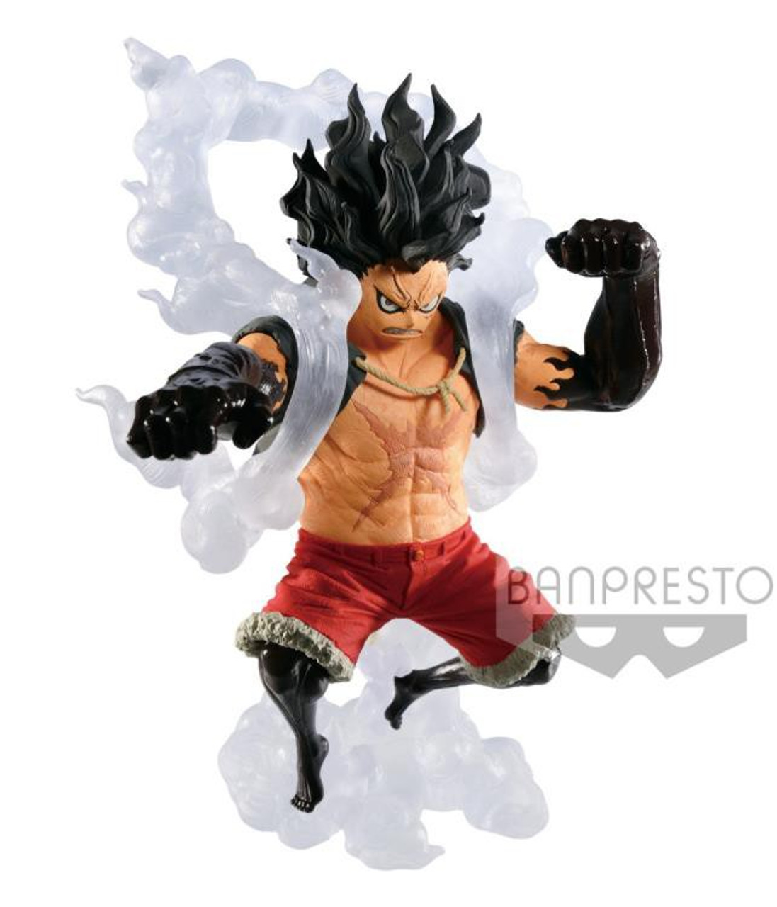 One Piece King Of The Artist Monkey D Luffy 5 5 Inch Collectible Pvc Figure Gear Fourth Snakeman