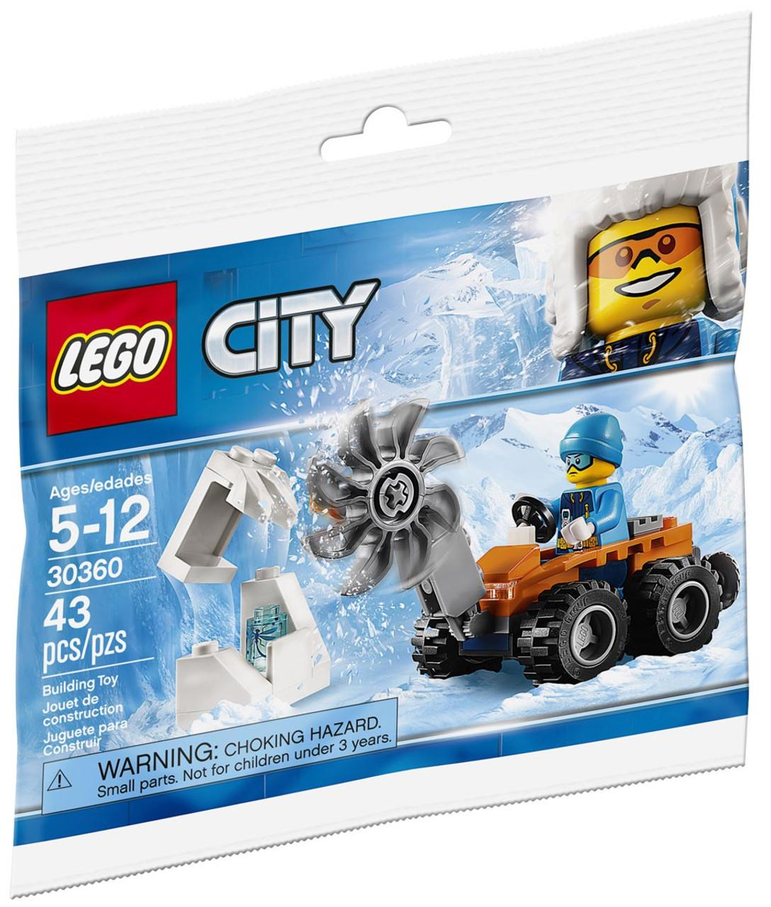 cc6e60549f1c LEGO City Arctic Ice Saw Mini Set 30360 - ToyWiz