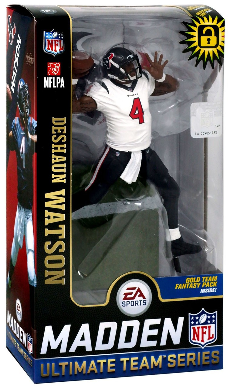 c93bcfafa McFarlane Toys NFL Houston Texans EA Sports Madden 19 Ultimate Team Series 2  Deshaun Watson 7 Action Figure White Jersey - ToyWiz