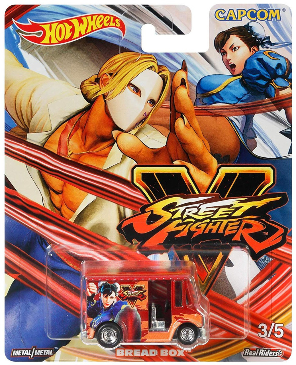 Hot Wheels Street Fighter V Bread Box Die Cast Car 35 Mattel Toywiz