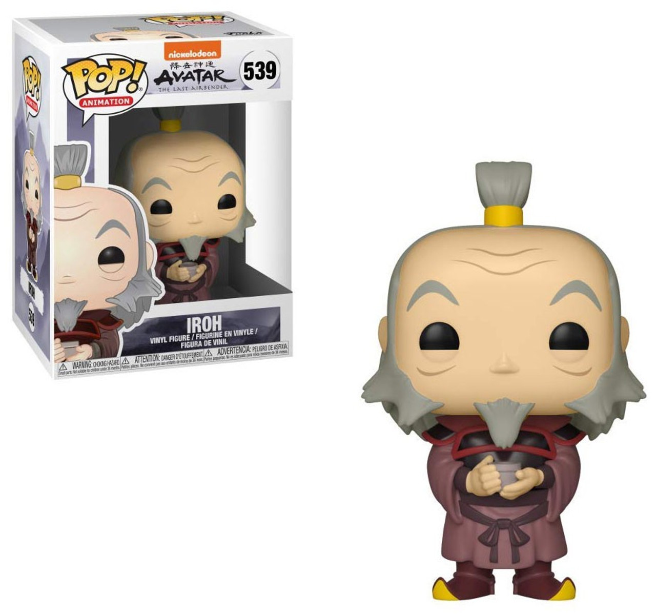 FUNKO POP ANIMATION APPA #540 AVATAR THE LAST AIRBENDER