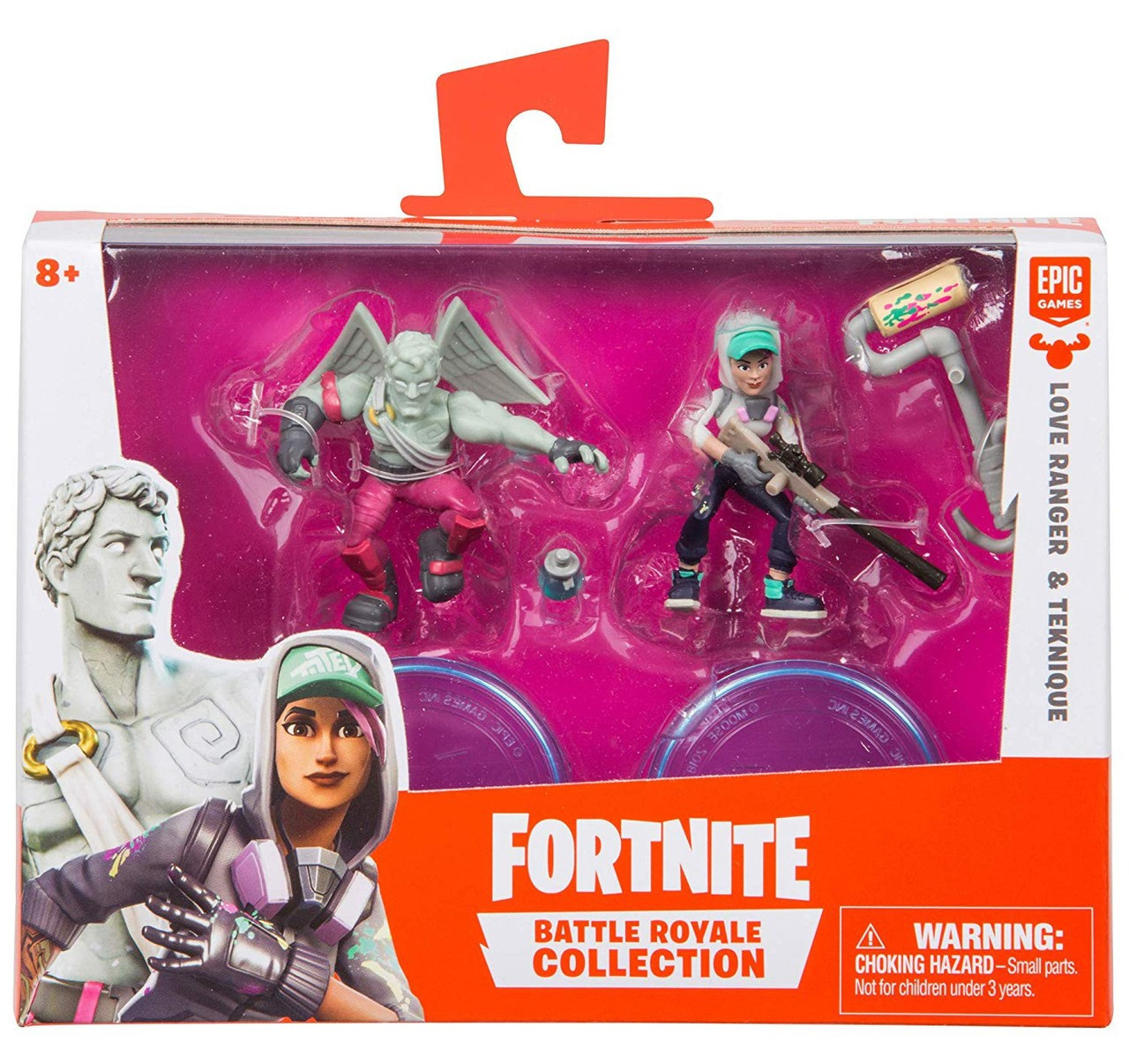 fortnite epic games battle royale collection love ranger teknique 2 mini figure 2 pack moose toys toywiz - black widow skin fortnite cost