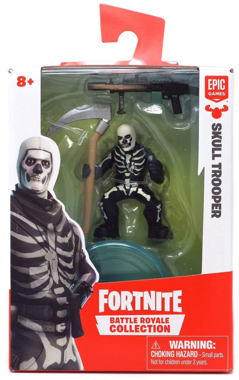 Fortnite Epic Games Battle Royale Collection Skull Trooper 2-Inch Mini  Figure