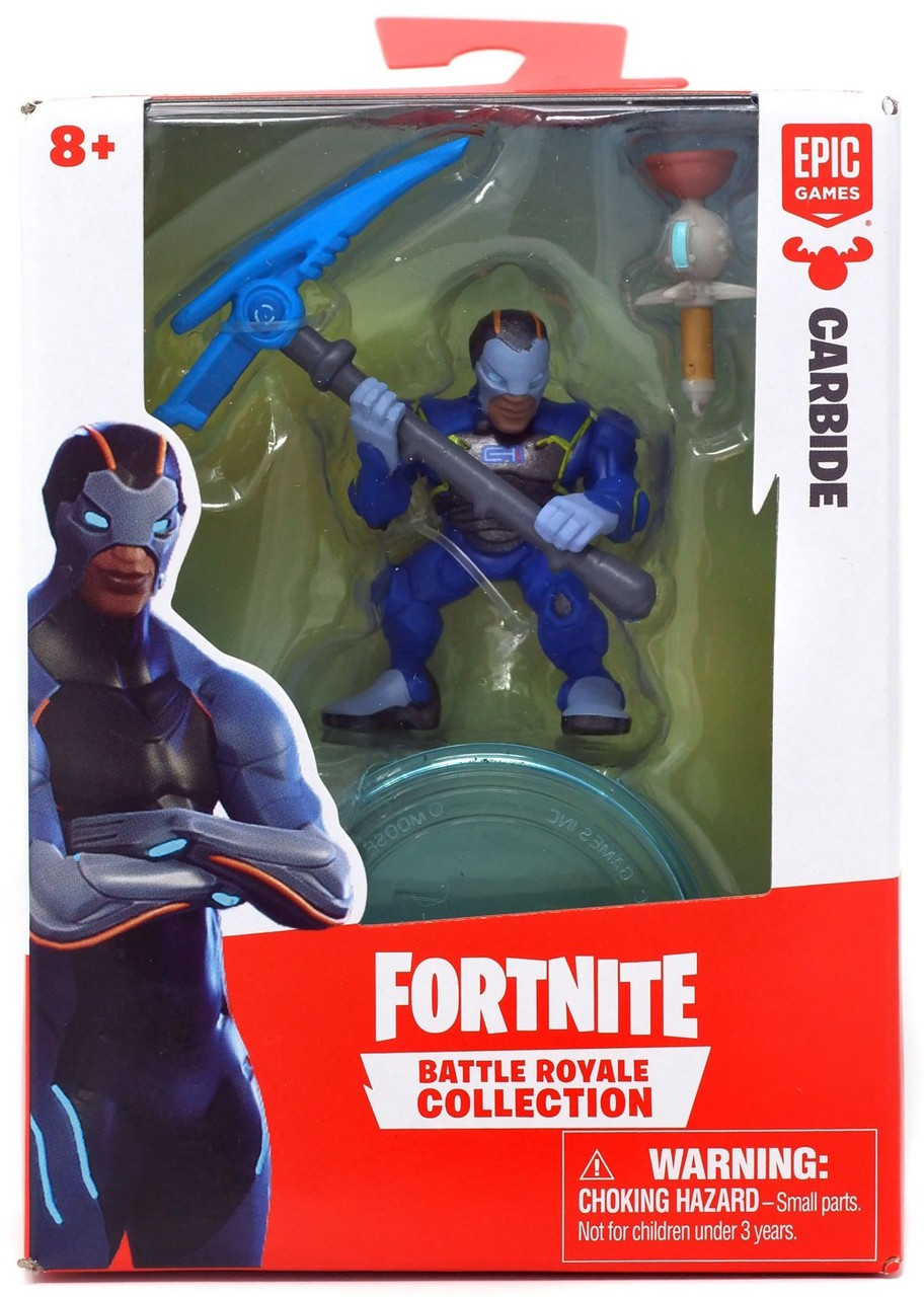 fortnite epic games battle royale collection carbide 2 mini figure moose toys toywiz - fortnite carbide hero