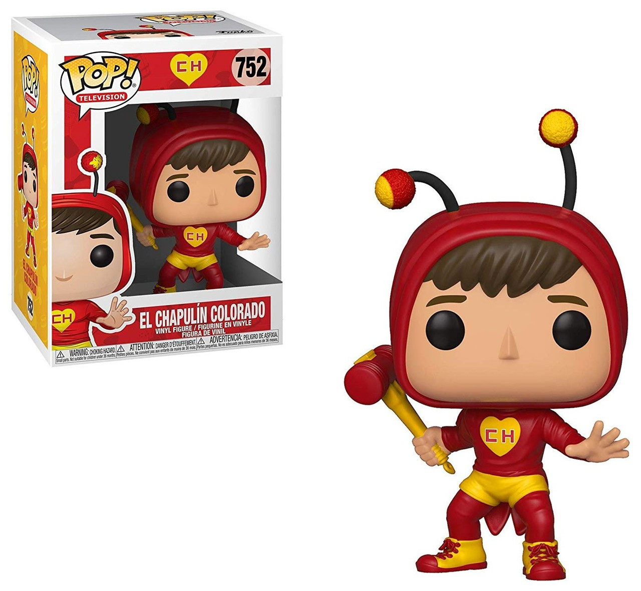 Funko Pop Television: Funko El Chavo Funko POP TV El Chapulin Colorado Vinyl
