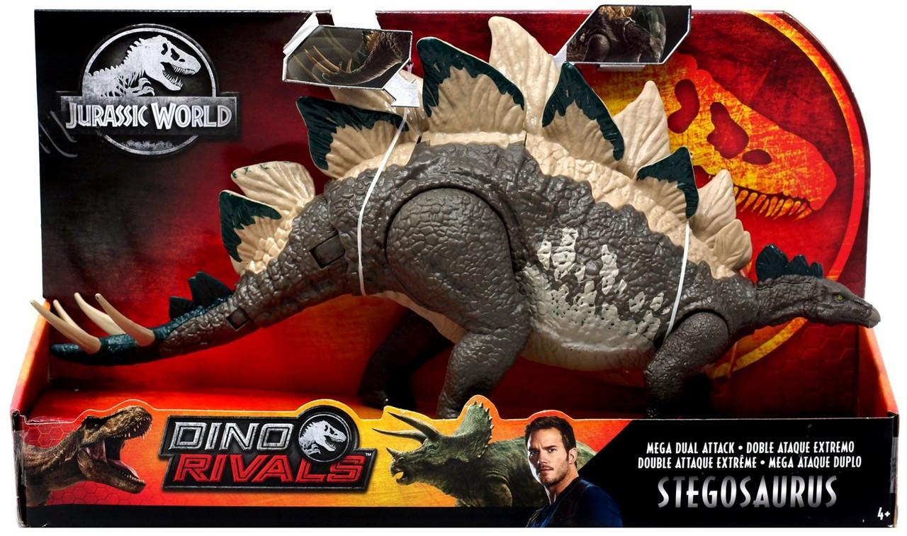 Mattel Jurassic World Dino Rivals Doppel-Attacke Dinosaurier Triceratops