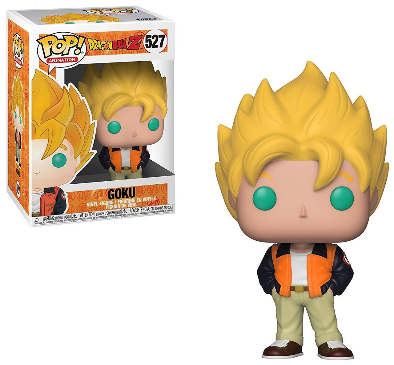 1d613ab5a31 Funko Dragon Ball Z Funko POP Animation Goku Vinyl Figure 527 Casual -  ToyWiz