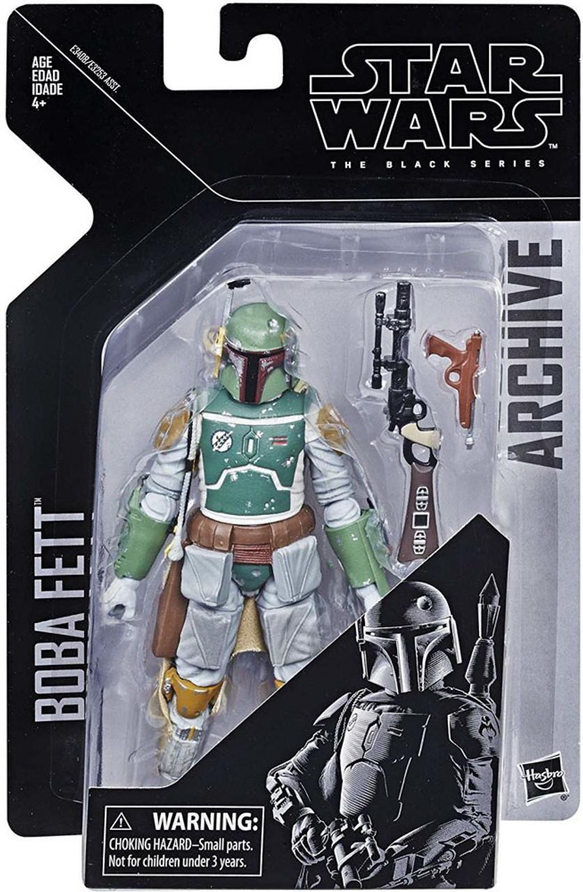 Black Boba Fett Limited Star Wars The Series Hasbro #06 Edition Action Figure UK