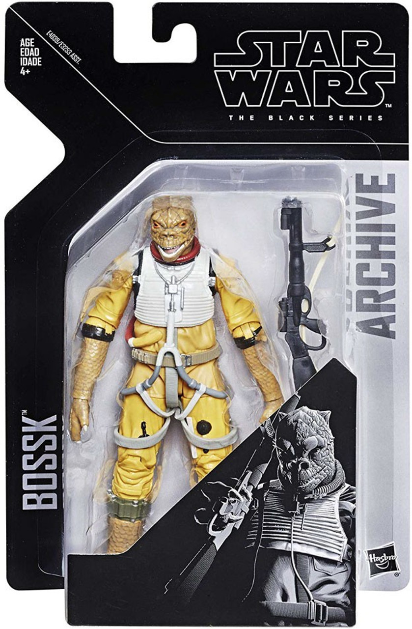 Star Wars The Empire Strikes Back Black Series Archives Wave 1 Bossk Action Figure