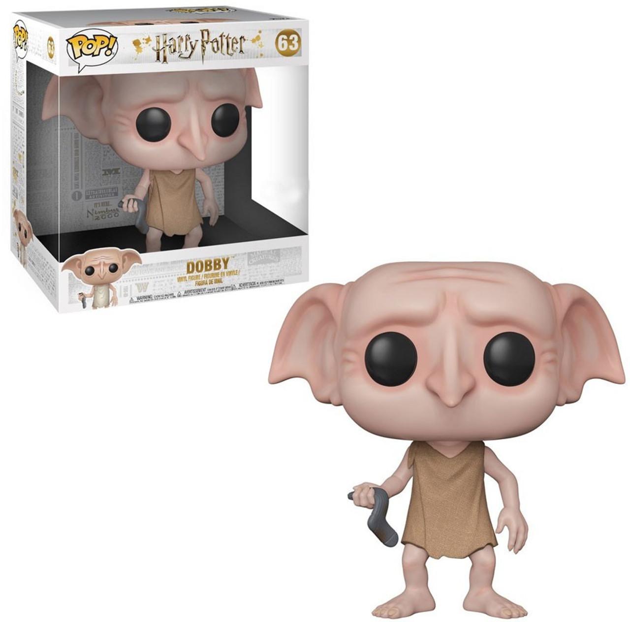 714aa2222b2 Funko Harry Potter Funko POP Movies Dobby Exclusive 10 Vinyl Figure 63  Super Size