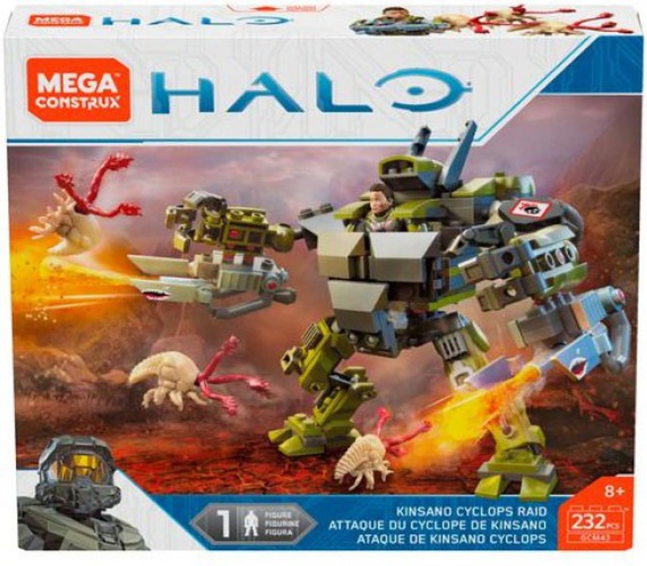 Halo Mega Construx Warzone Kinsano Cyclops Raid Set