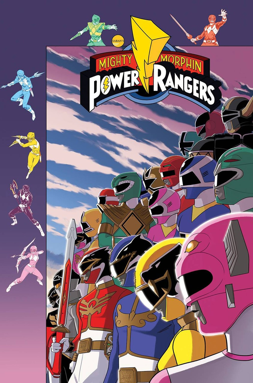 Mighty Morphin Power Rangers #51 2 Covers Boom w//Bag /& Board