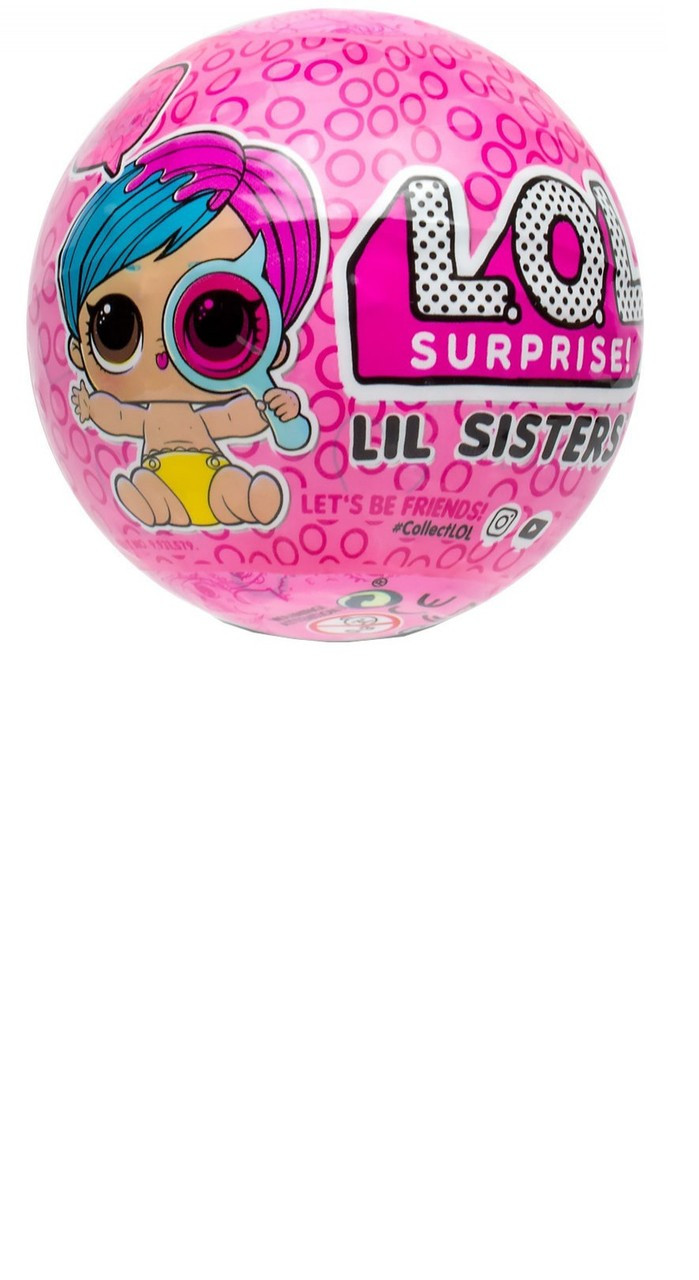 Lol Surprise Series 4 Eye Spy Lil Sisters Lot Of 4 Mystery Packs Mga