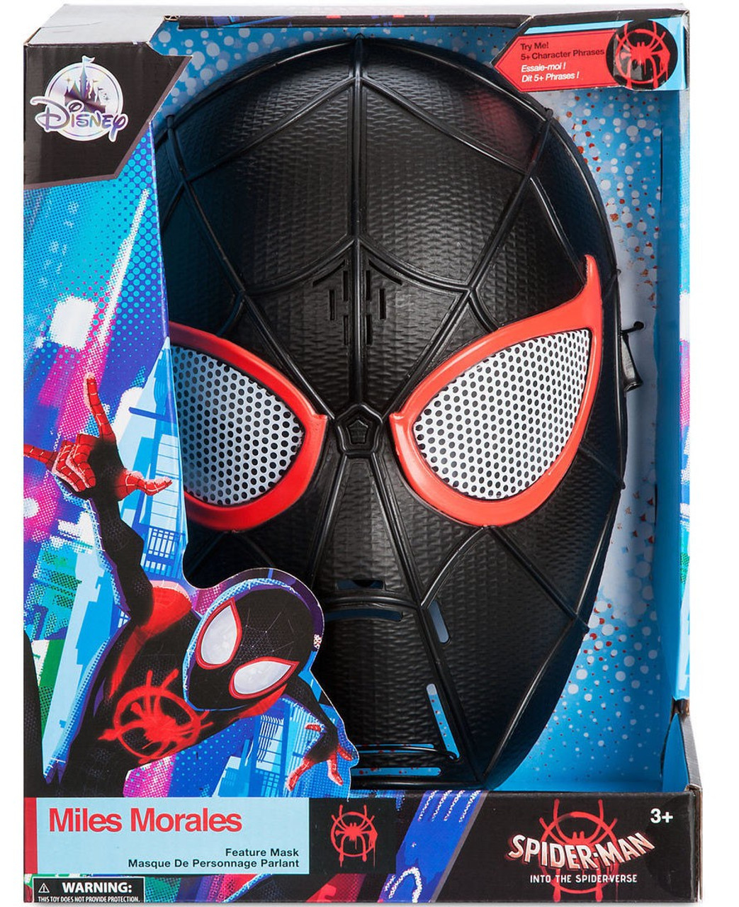 Spider Man Homecoming Shirt Mask Compatible Roblox Disney Marvel Spider Man Into The Spider Verse Miles Morales Exclusive Talking Mask Toywiz