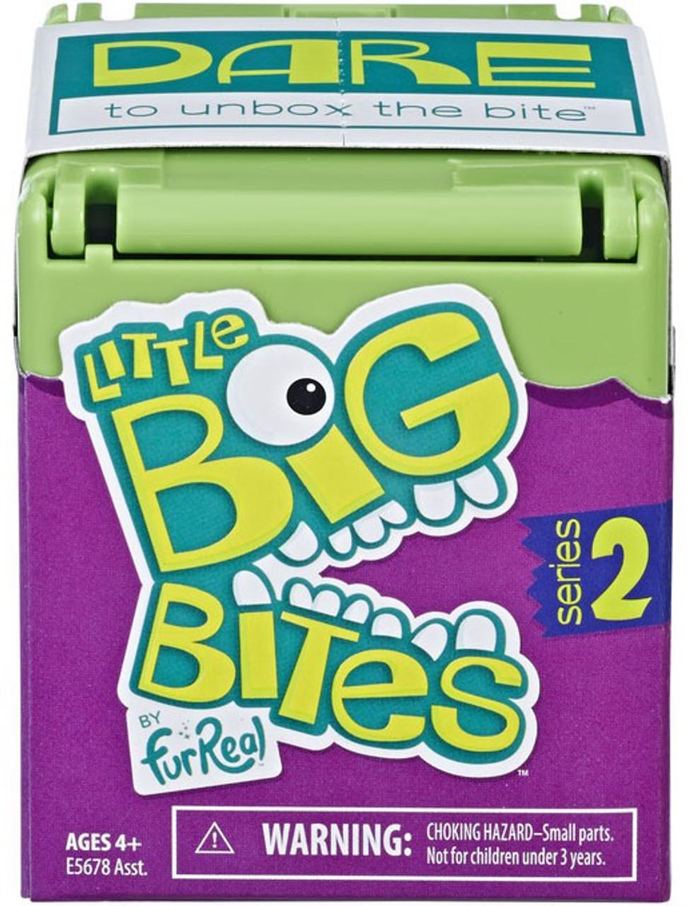 Hasbro Little Big Bites Fur Real Series 1 Blue Rabbit Figure NEW