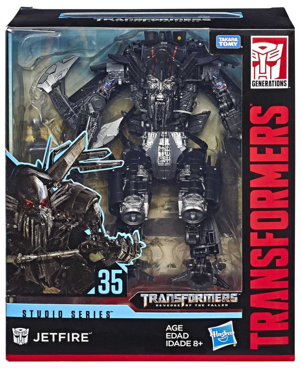 Transformers Generations Studio Series 35 Jetfire Leader Action Figure
