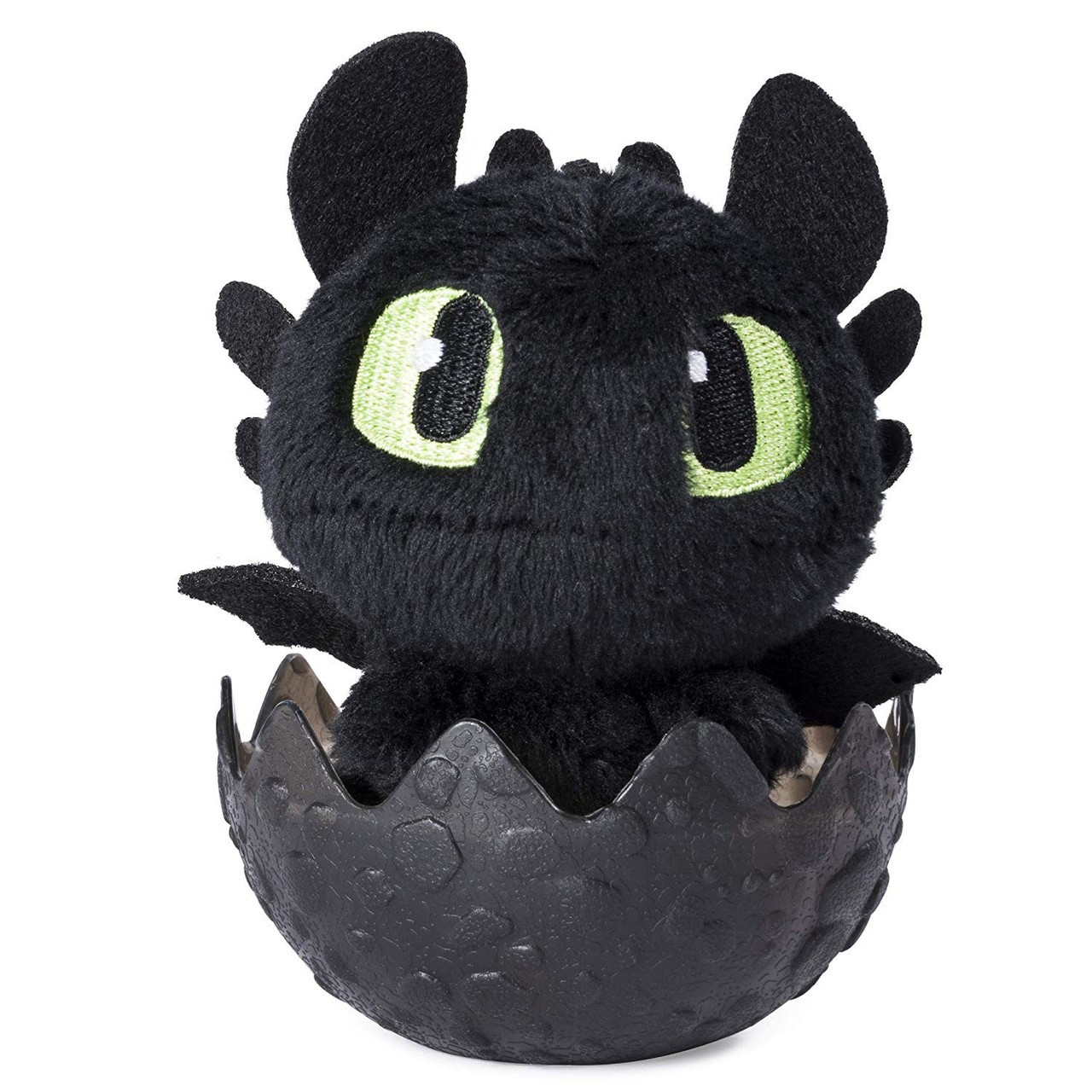 "How To Train Your Dragon The Hidden World Baby Hookfang Dragon 3/"" Plush in Egg"