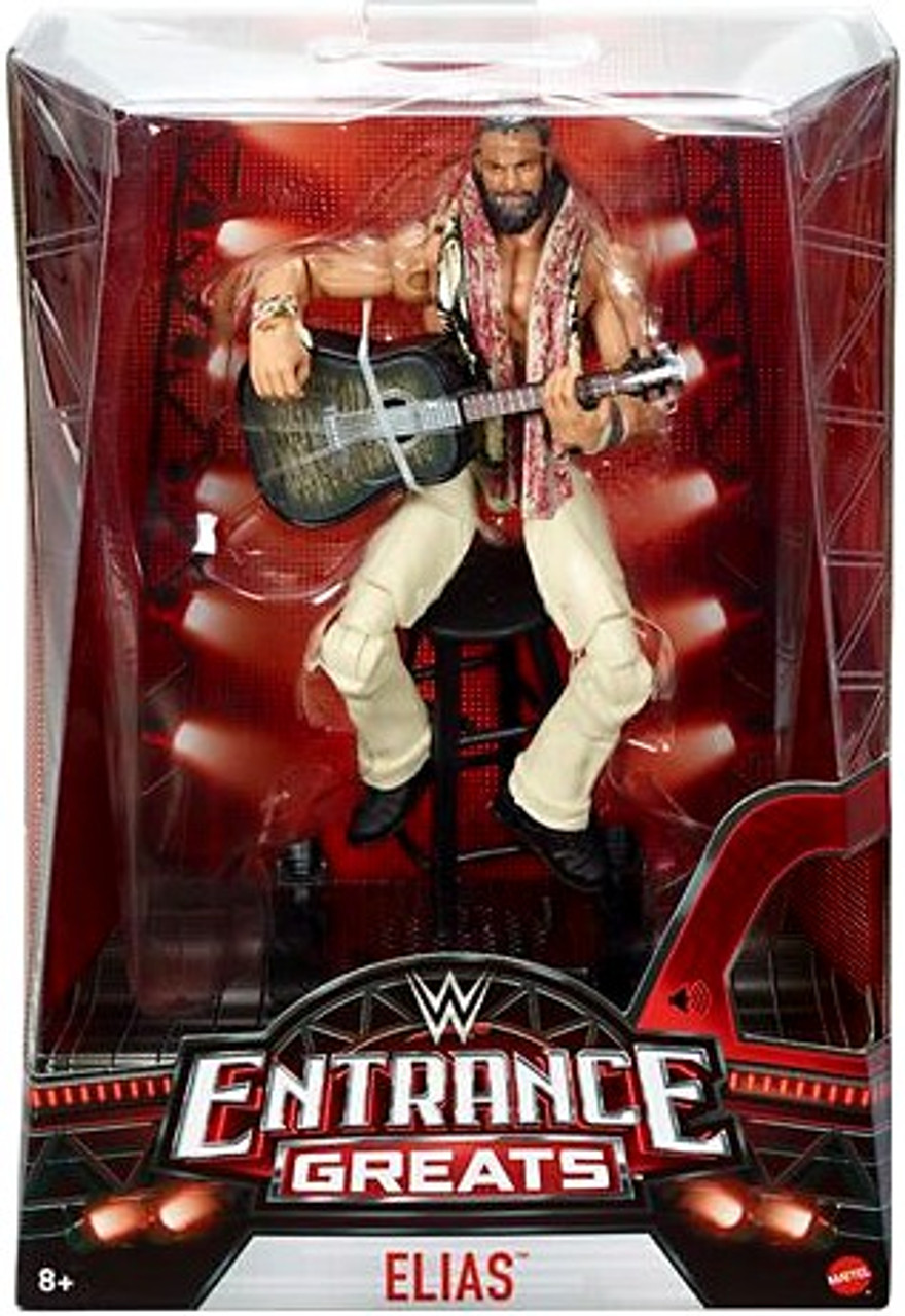 WWE Wrestling Mattel Elite Entrance Greats Series Elias Figure