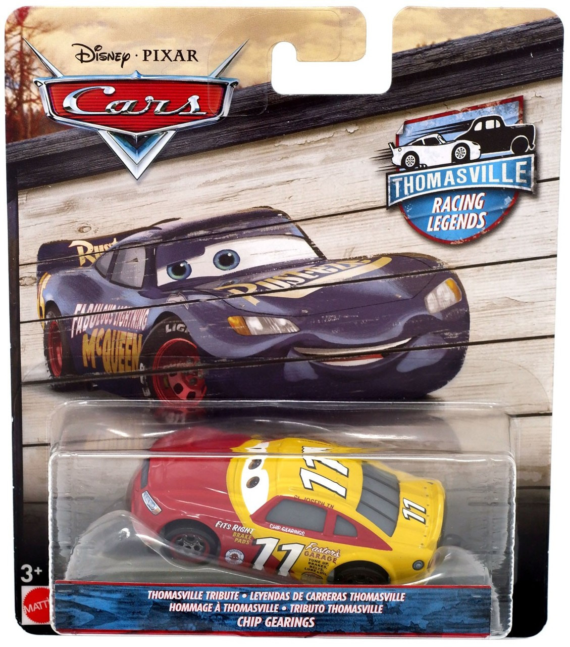 Carthomasville Disney Legends Chip 3 Pixar Tribute Thomasville Gearings Diecast Racing Cars wOPTXlZuki
