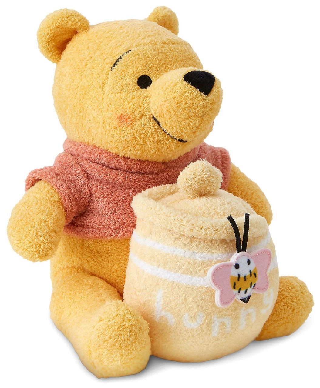 cc9ca066014e Disney Disney Baby Winnie the Pooh with Hunny Jar Exclusive 8.25 Plush -  ToyWiz