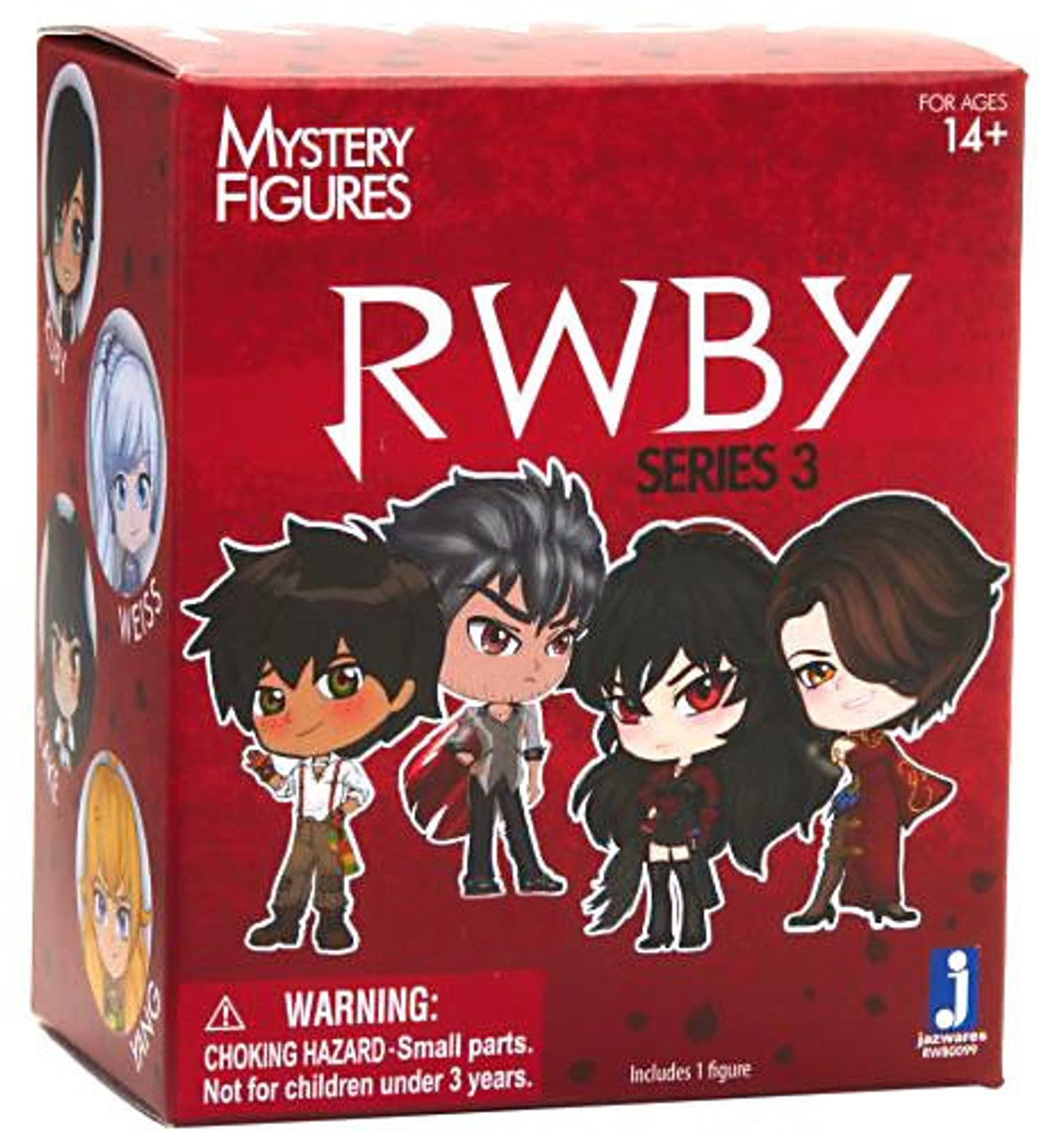 RWBY 3/'/' Nora Trading Figure NEW