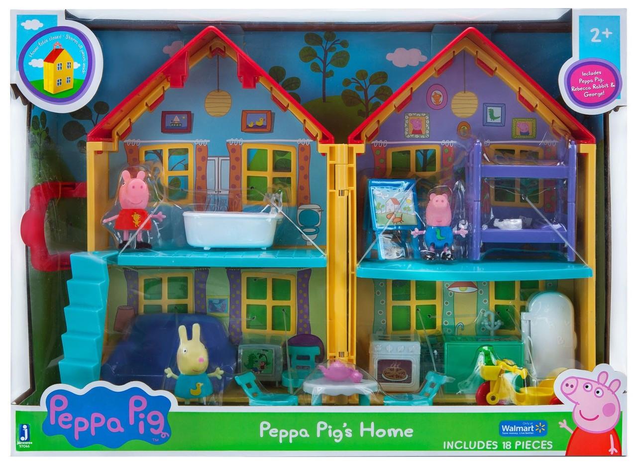 peppa pig bug playset
