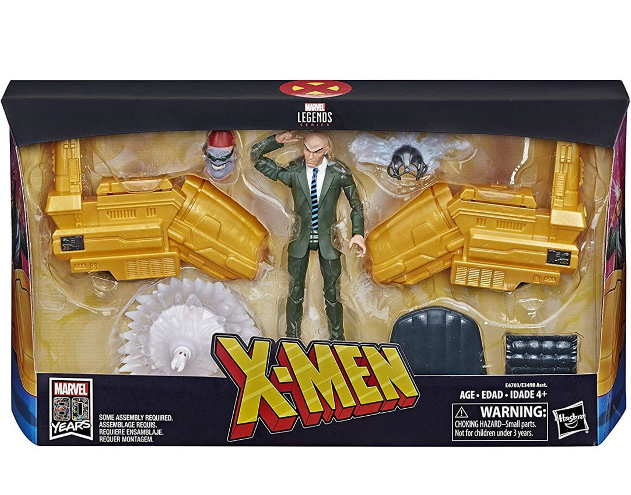 NEW Marvel Legends Ultimate Legends Professor Charles Xavier with Hover Chair