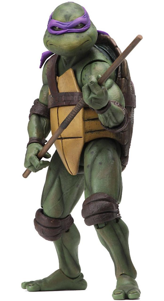 "NECA Donatello 7/"" Action Figure !! Teenage Mutant Ninja Turtles 1990 Movie"