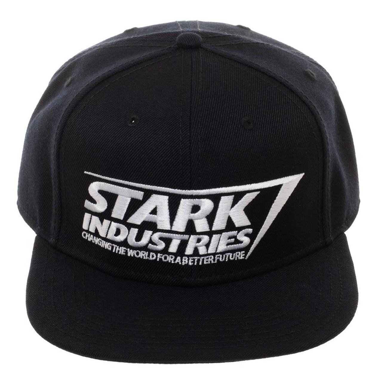 e5773d82fc4b4 Captain Marvel Stark Industries Snapback Cap Bioworld - ToyWiz