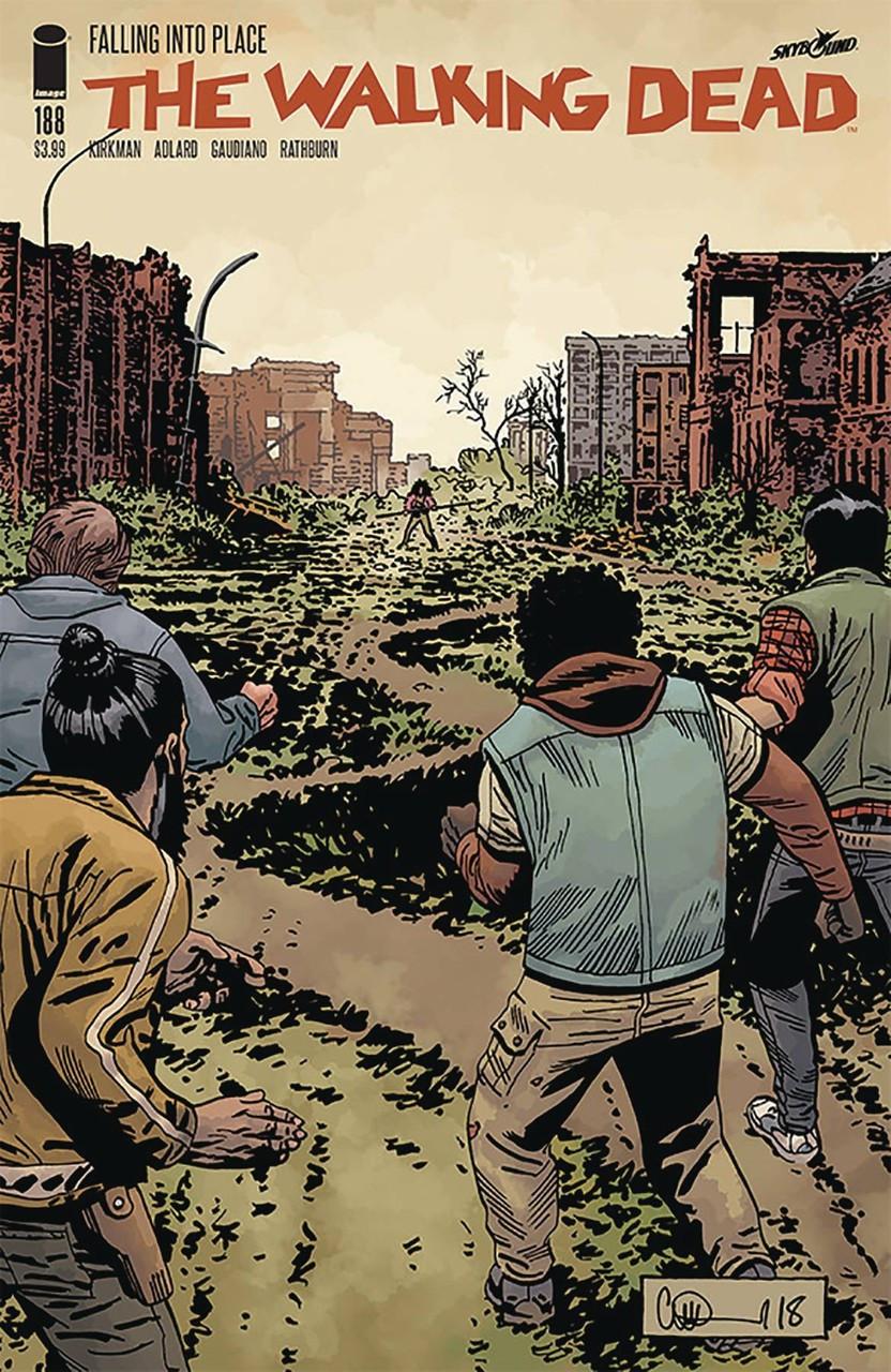 THE WALKING DEAD #178 COVER A MR IMAGE COMICS 2018