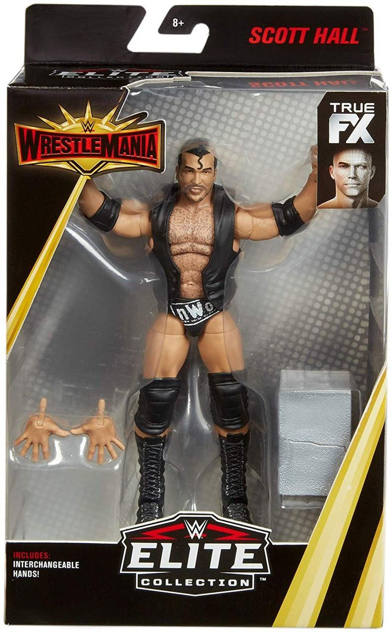 WWE Wrestling Elite Collection WrestleMania 35 Scott Hall Action Figure