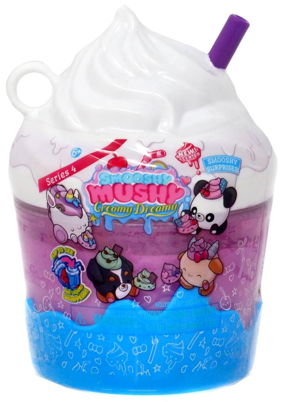 SMOOSHY MUSHY Creamy Dreamy Pink Bottle Series 4 Scented Mystery Bestie New