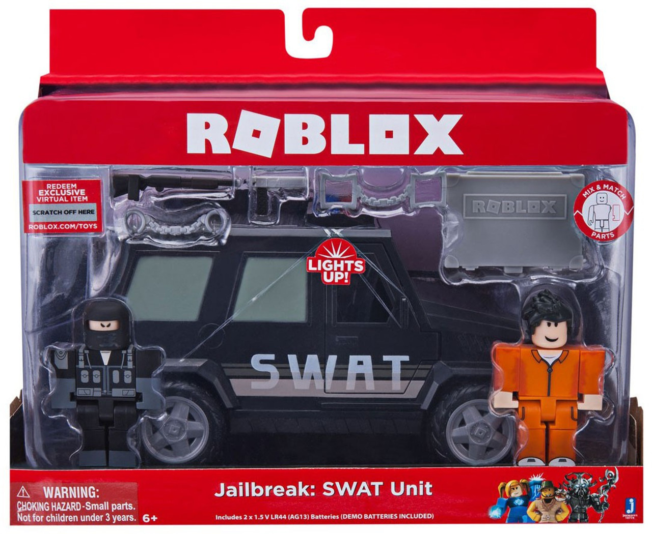 Roblox Jailbreak Swat Unit 3 Figure Set Jazwares Toywiz