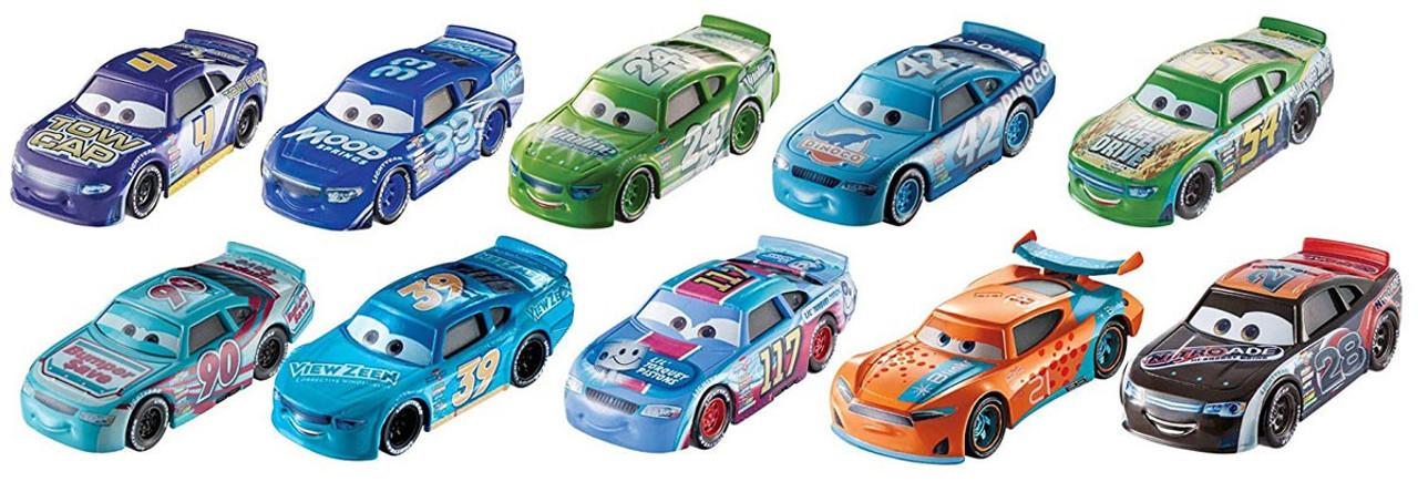 Disney Pixar Cars Cars 3 Old Gen Pack 1 Diecast Car 10 Pack
