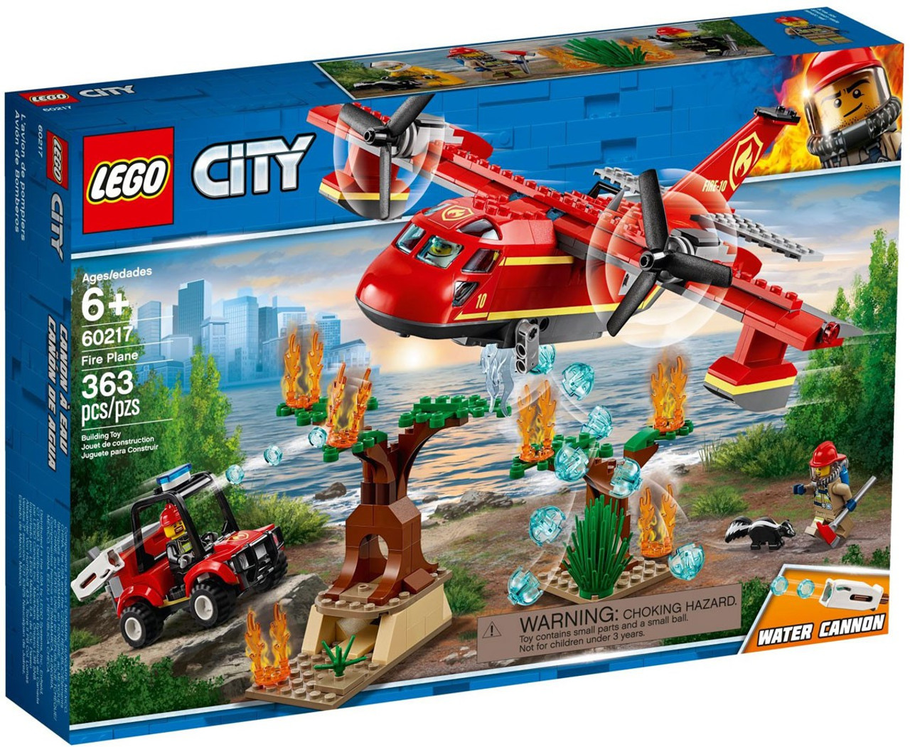 LEGO City Fire Plane Set #60217