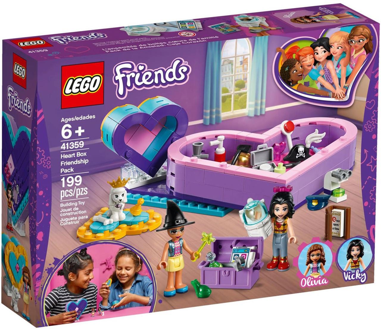 Lego Friends Heart Box Friendship Pack Set 41359 Toywiz