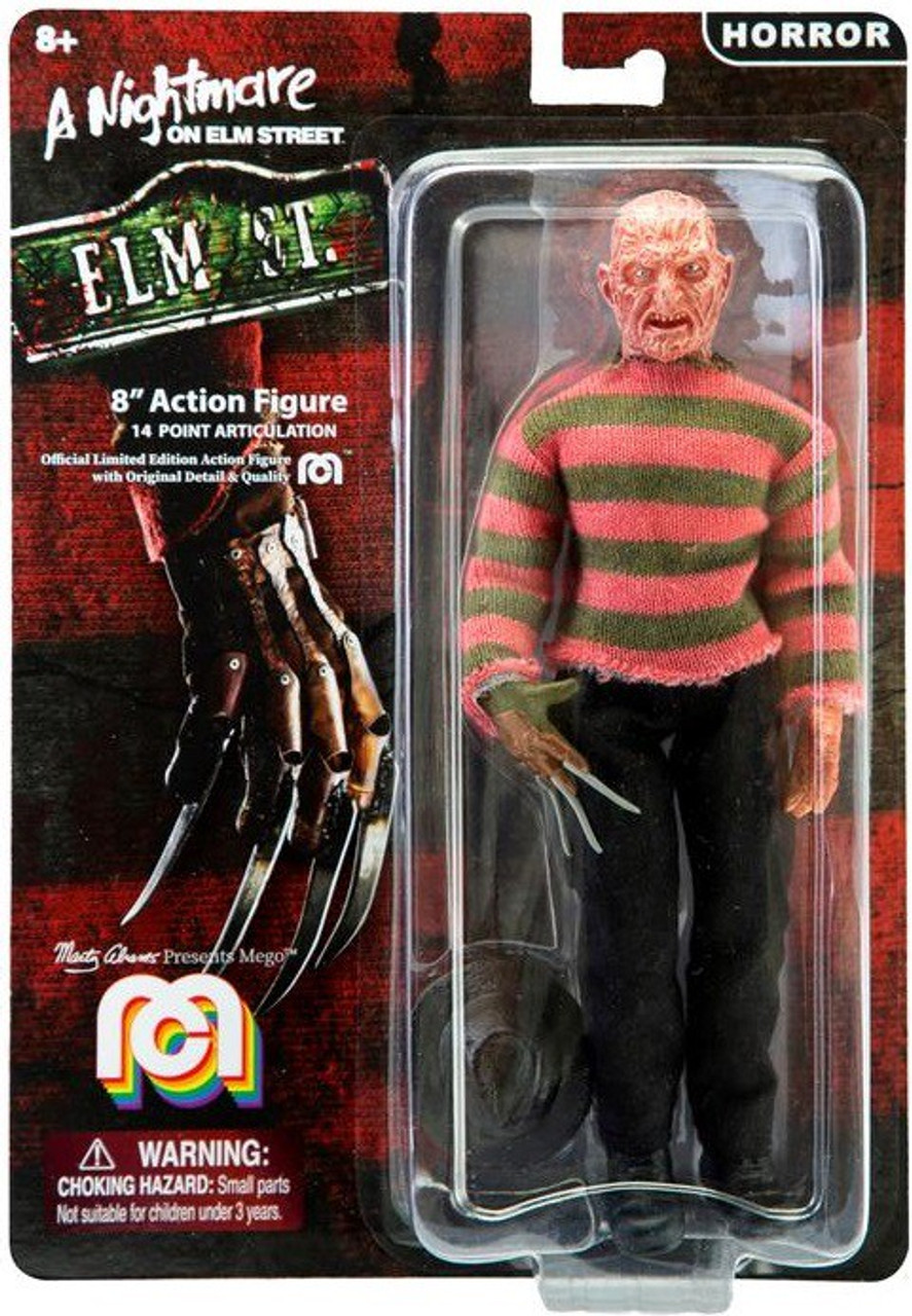 "NECA NIGHTMARE ELM STREET FREDDY KRUEGER SURGEON  8/"" ACTION FIGURE MOVIE"