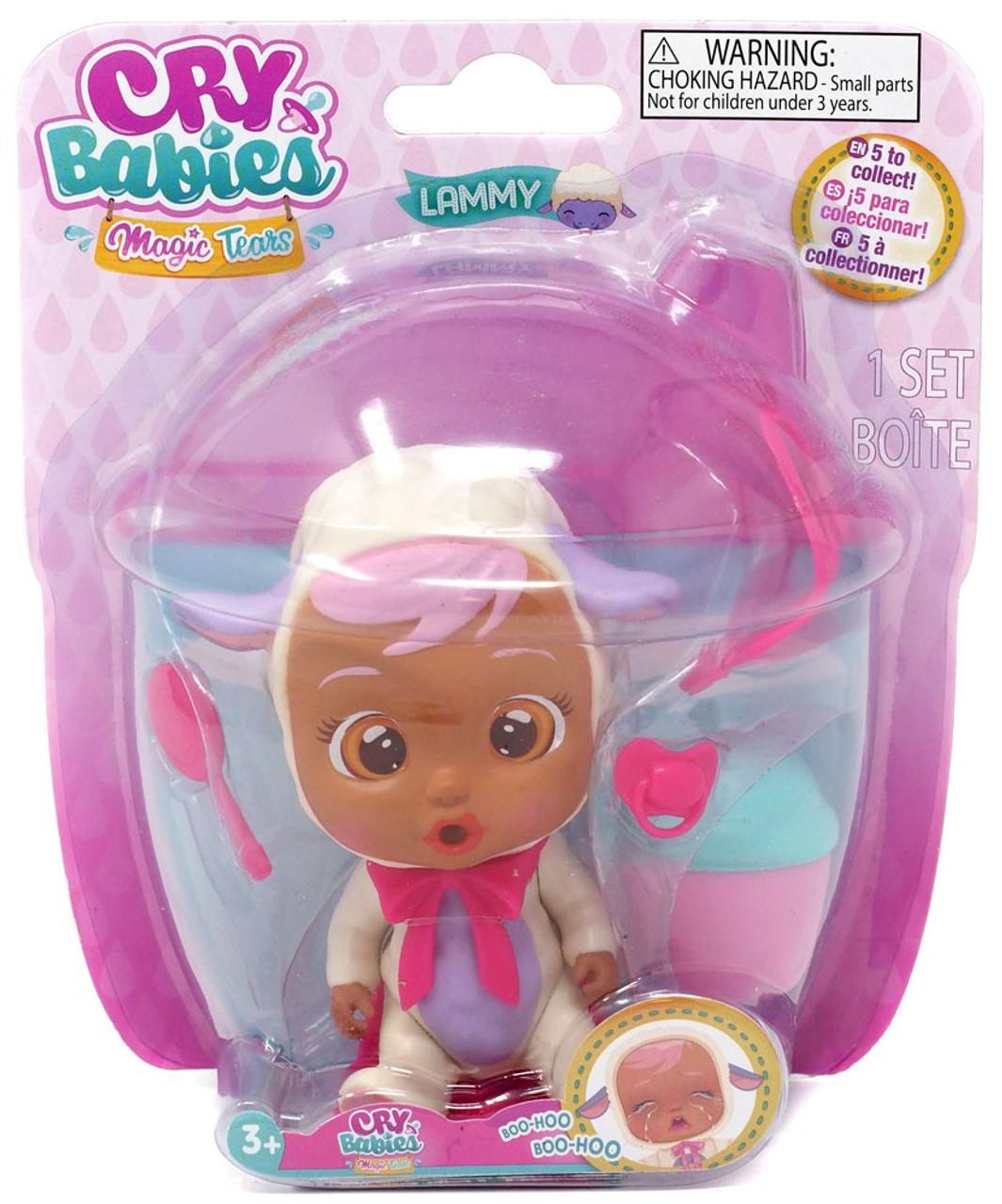 Cry Babies Magic Tears Lammy Mini Doll