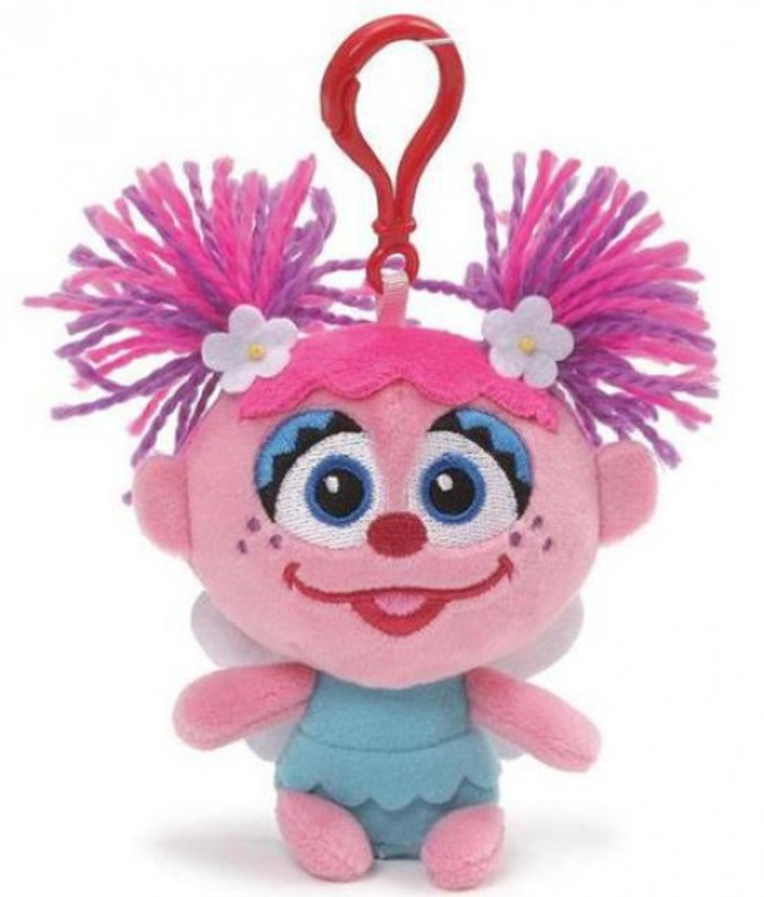 Sesame Street Abby Cadabby 4 Inch Clip On Plush